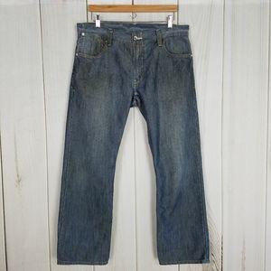 Levi's 514 Slim Straight Blue Jeans Smooth Finish